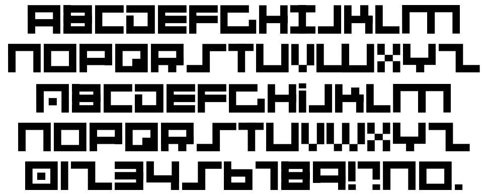 001 System Analysis font