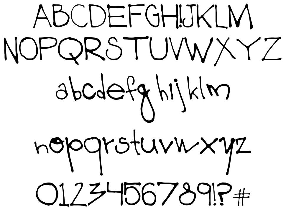 003 Mikey font