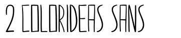 2 Colorideas Sans