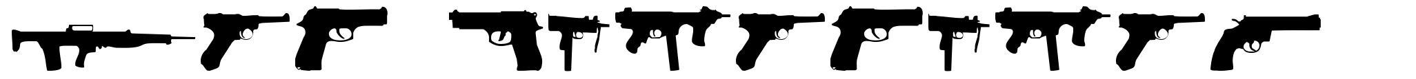 2nd Amendment font