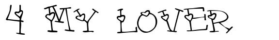 4 My Lover