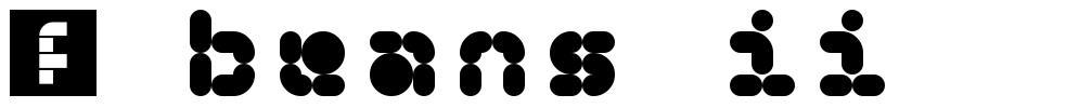 5 Beans II font