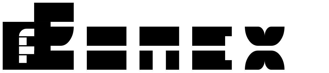 5 Zonex フォント