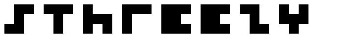 5Threezy font