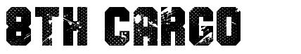 8th Cargo font