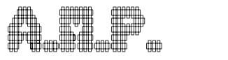 A.M.P. font