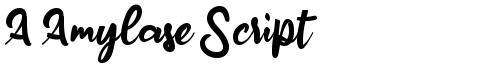 A Amylase Script