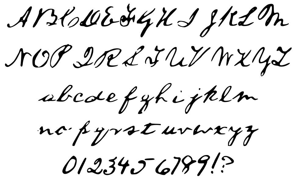 A Lincoln Font font by Steve Woolf - FontRiver