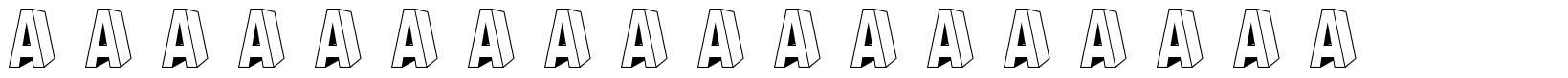 A Ryal Black Block font