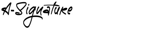 A-Signature