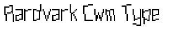 Aardvark Cwm Type