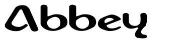 Abbey font