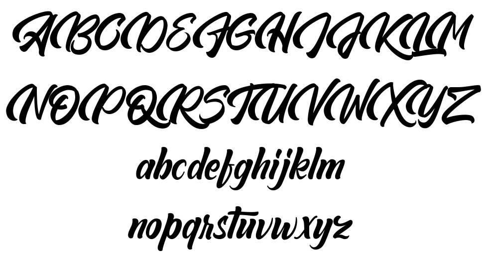 Abeganshi font