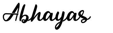 Abhayas