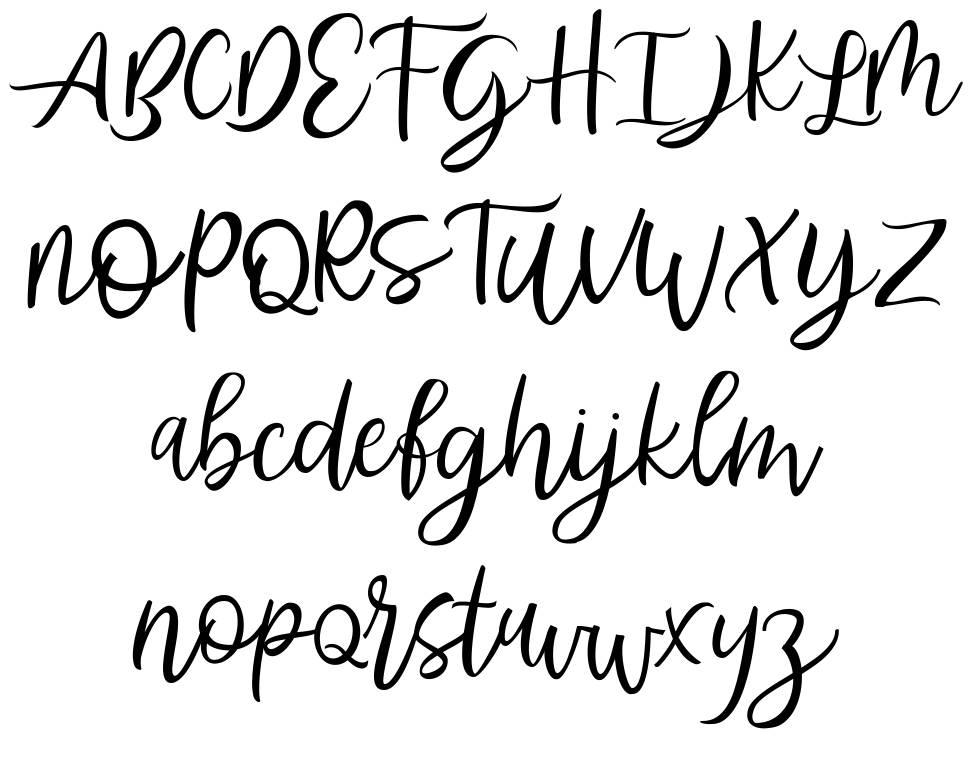 Abhyaksa шрифт