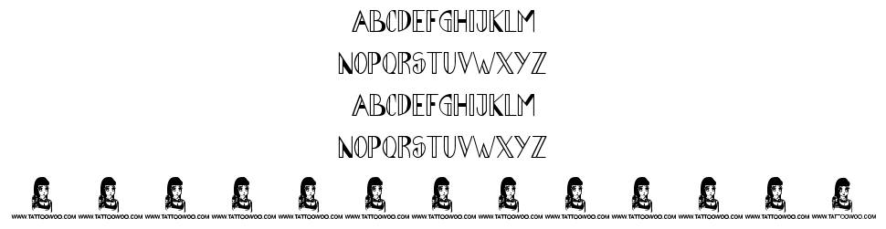 Abraham Heights font