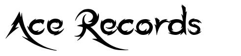 Ace Records フォント