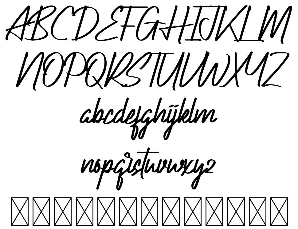 Actinide font