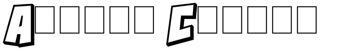 Action Comics font