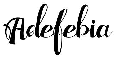 Adefebia