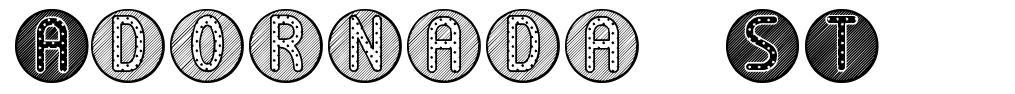 Adornada ST font