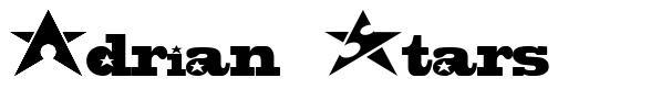 Adrian Stars font