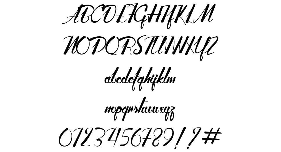 Adventure of the old Giant font