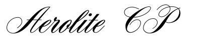 Aerolite CP font