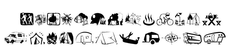 AEZ Camping font