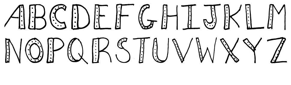AEZ Dots font