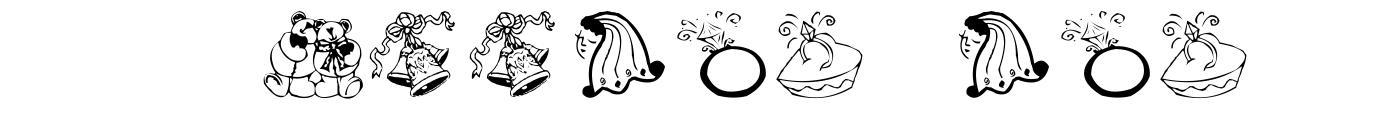 AEZ Wedding Dings font