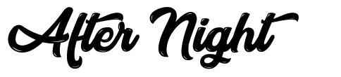 After Night font
