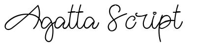 Agatta Script