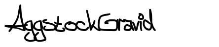 AggstockGravid 字形