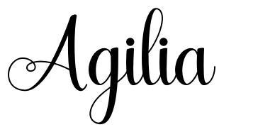 Agilia font