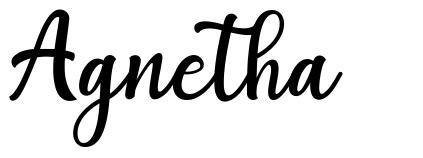 Agnetha font