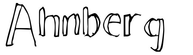 Ahnberg