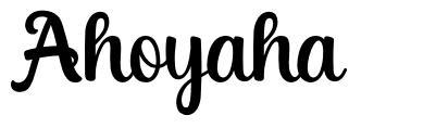 Ahoyaha