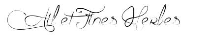 Ail et Fines Herbes 字形