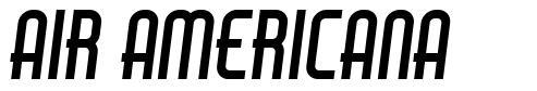 Air Americana font