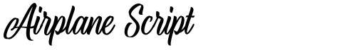 Airplane Script