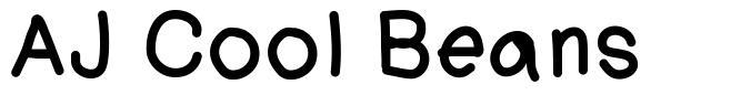 AJ Cool Beans font