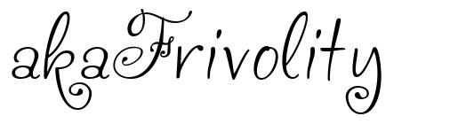 akaFrivolity
