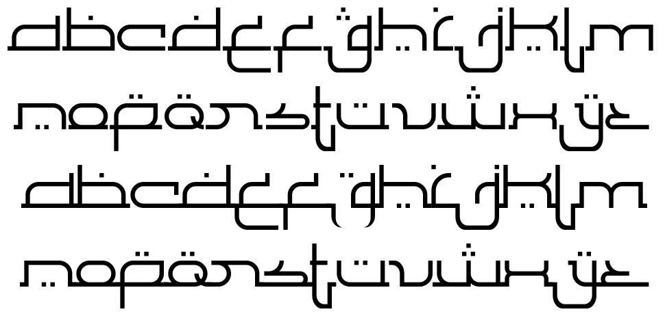 Al Faragh font