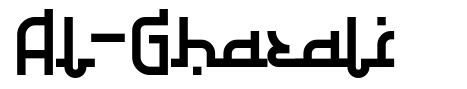 Al-Ghazali font