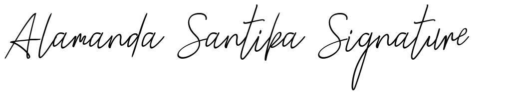 Alamanda Santika Signature