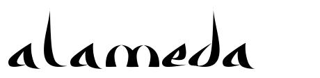Alameda font
