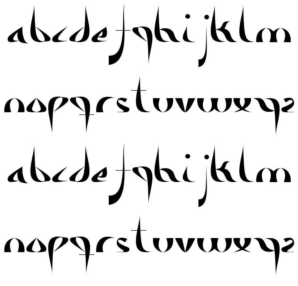 Alameda písmo
