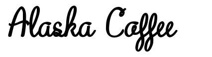 Alaska Coffee font