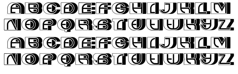Album font